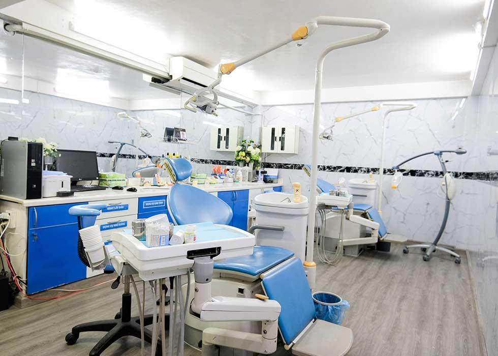 Trang thiết bị phòng khám được đầu tư hiện đại, đảm bảo sự an toàn, thoải mái và chất lượng cho khách hàng