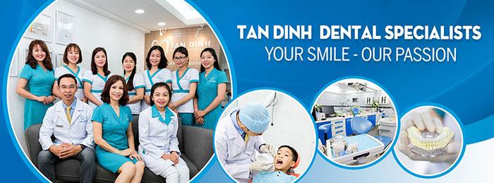 Nha khoa Tân Định được thành lập từ năm 2003, trong suốt quá trình hoạt động và phát triển, chúng tôi luôn cố gắng mang tới cho khách hàng những dịch vụ với chất lượng vượt trội nhất