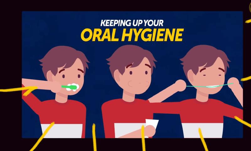 Bạn nên dùng bàn chải đánh răng có chỉ lông mềm mại và mảnh. Ngoài ra, bạn cũng nên vệ sinh răng bằng chỉ nha khoa. Điều đó giúp tránh các tác động mạnh đến mắc cài nhưng vẫn đảm bảo vi khuẩn, vi rút không tấn công răng miệng.