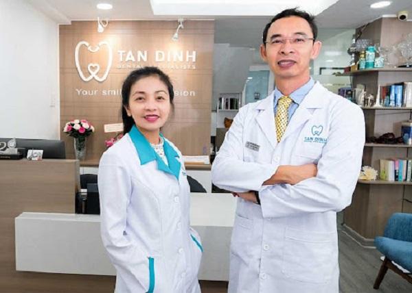 Nha khoa Tân Định địa chỉ tin cậy trong kỹ thuật bọc sứ và dán sứ cho răng